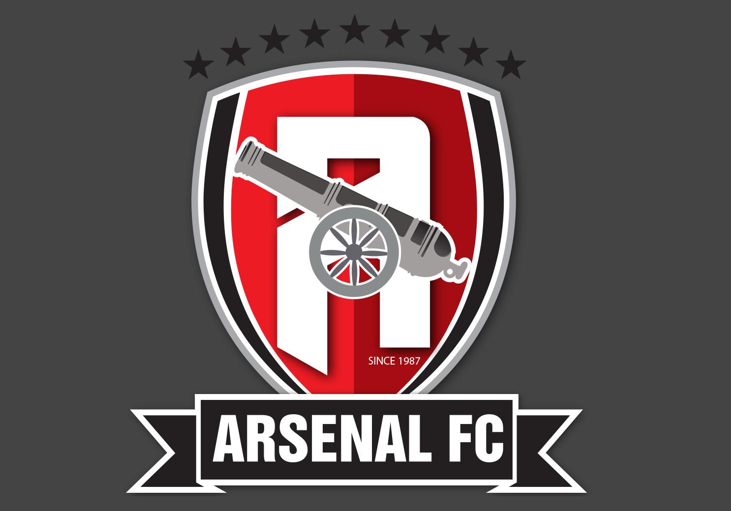Hình Arsenal logo png