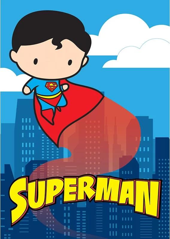 Hình chibi superman đáng yêu