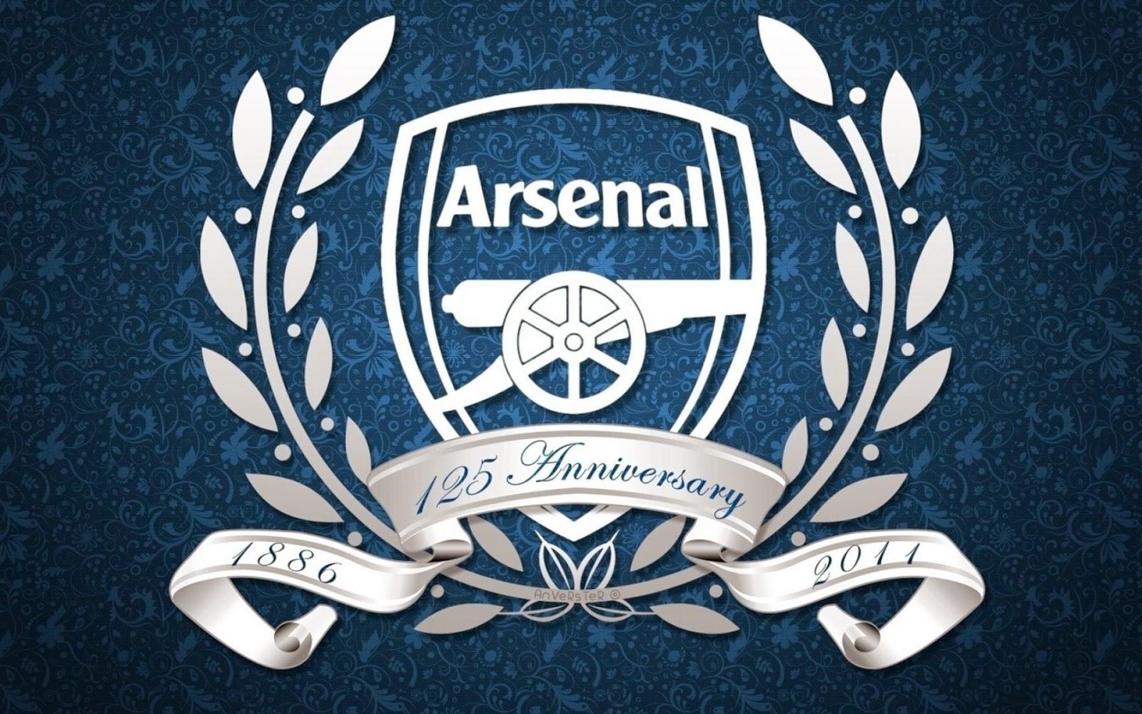 Hình nền đẹp logo Arsenal