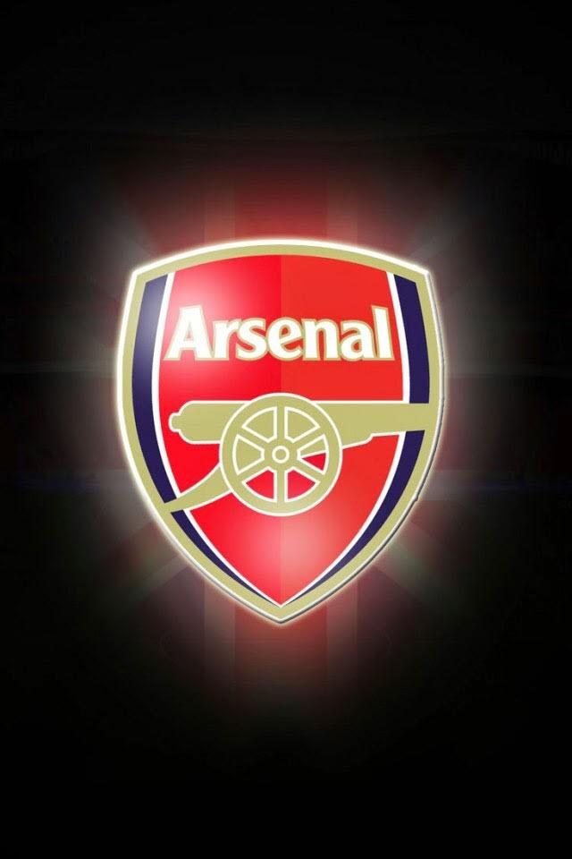 Hình nền điện thoại logo Arsenal