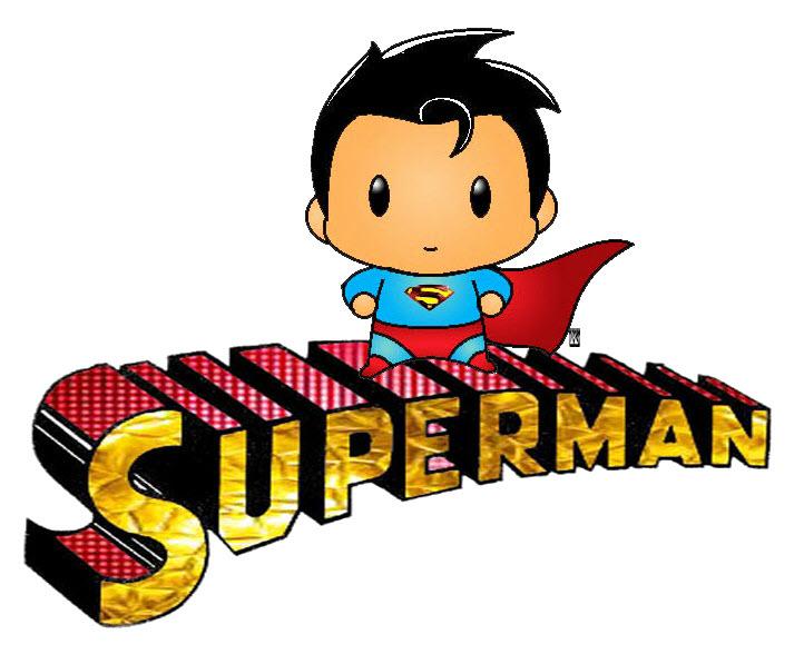 Hình superman chibi cực độc