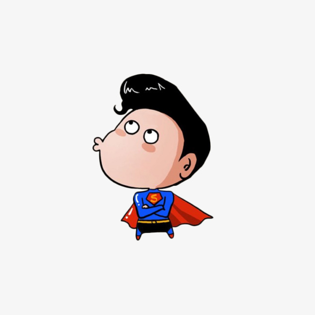 Hình superman chibi đáng yêu và đẹp