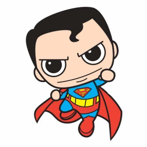 Hình superman chibi đẹp và độc
