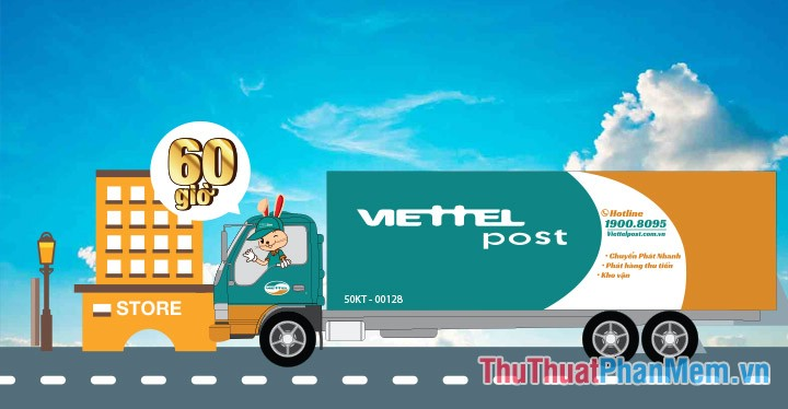 Hostline hỗ trợ chuyển phát nhanh Viettel
