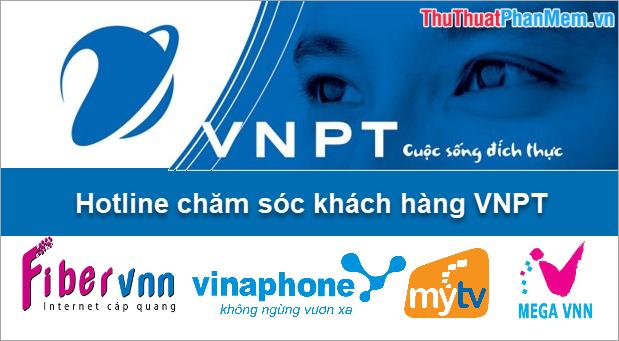 Hotline chăm sóc khách hàng VNPT 24/7