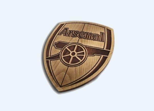 Logo Arsenal 3d đẹp nhất