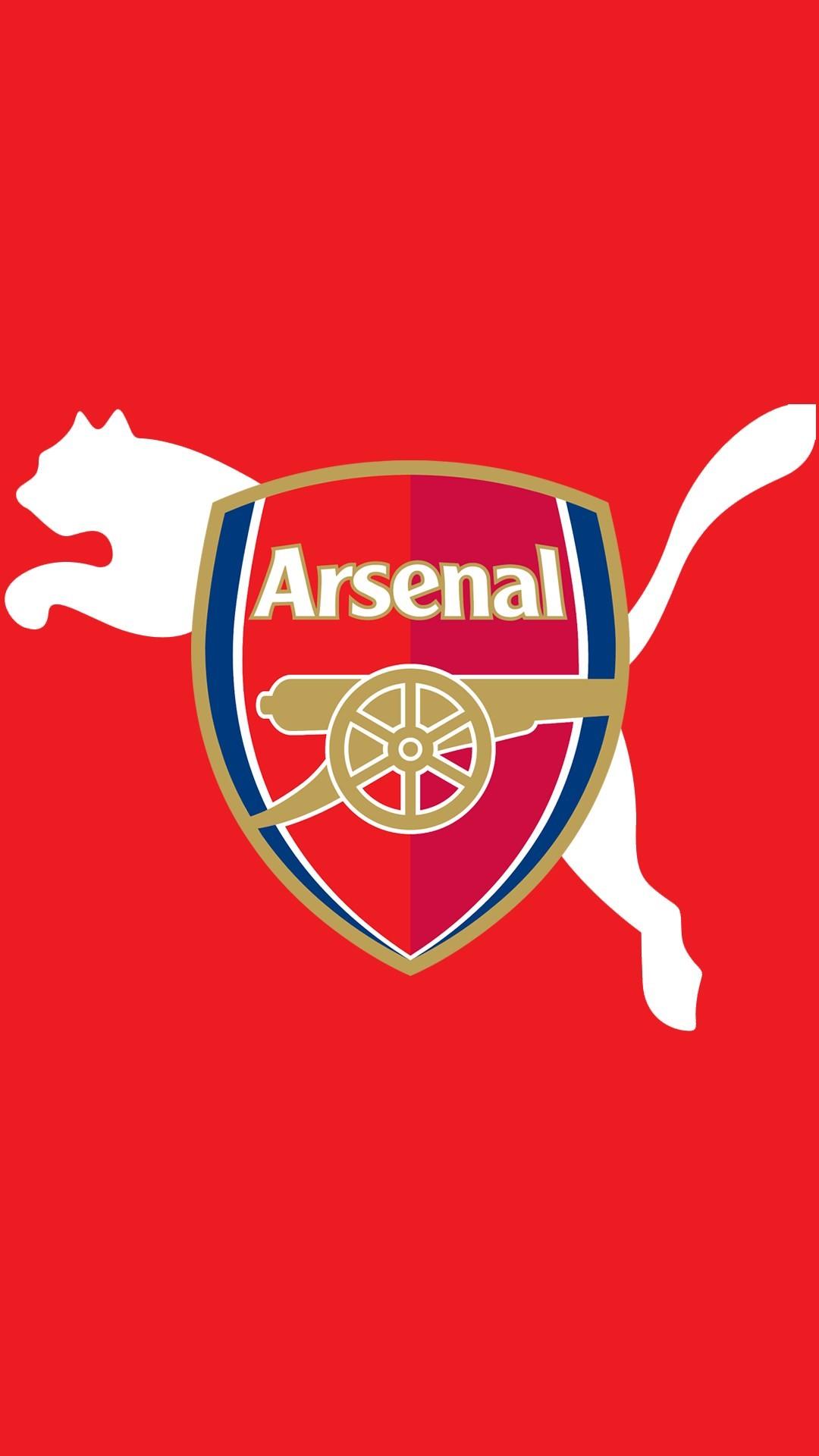 Logo Arsenal đỏ đẹp