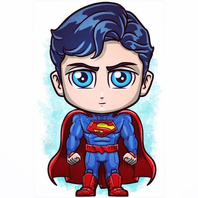 Những hình ảnh superman chibi đáng yêu nhất