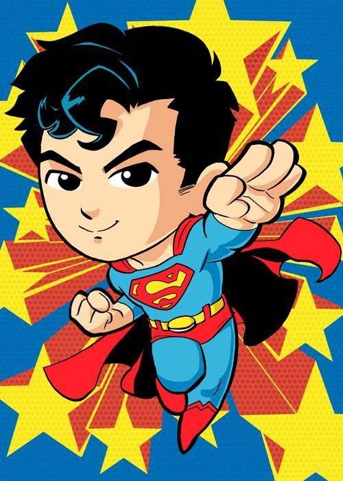 Những hình ảnh superman chibi đáng yêu