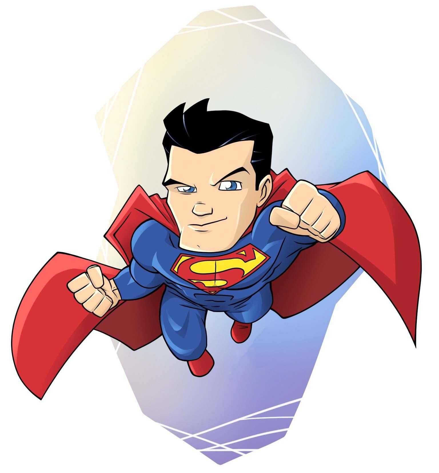 Những hình ảnh superman chibi đẹp và độc nhất