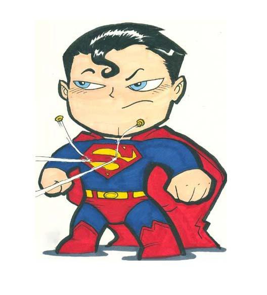 Những hình ảnh superman chibi đẹp và hay