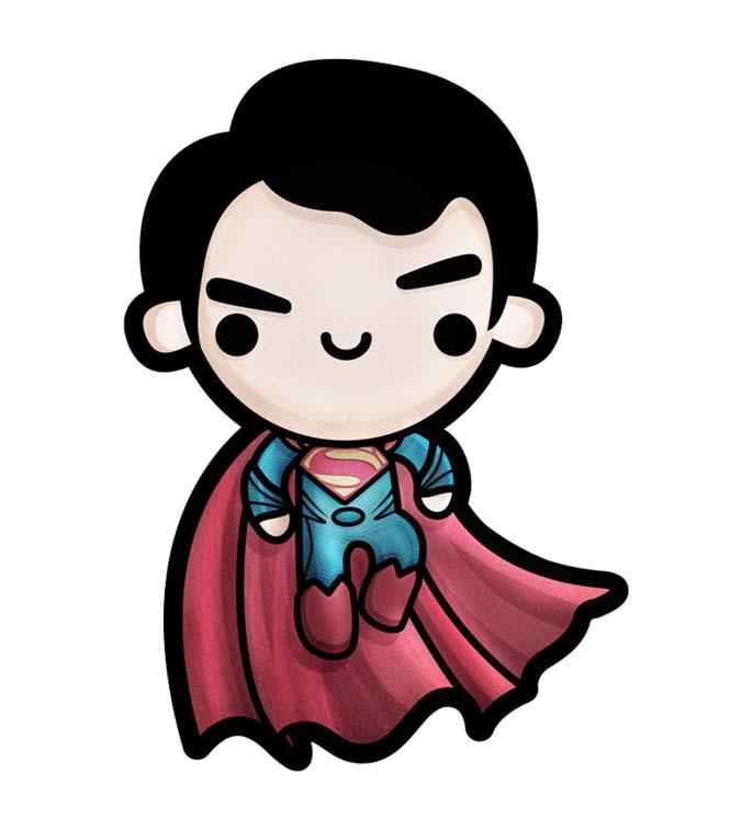 Những hình ảnh superman chibi đẹp và lạ nhất