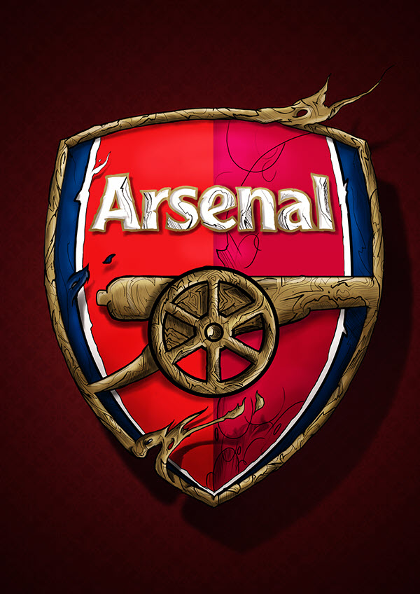 Những logo Arsenal đẹp nhất