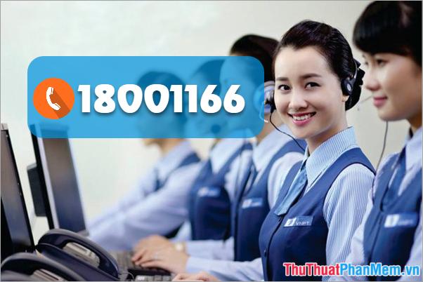 Số tổng đài VNPT: 18001166