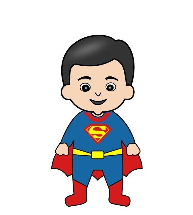 Superman chibi đẹp