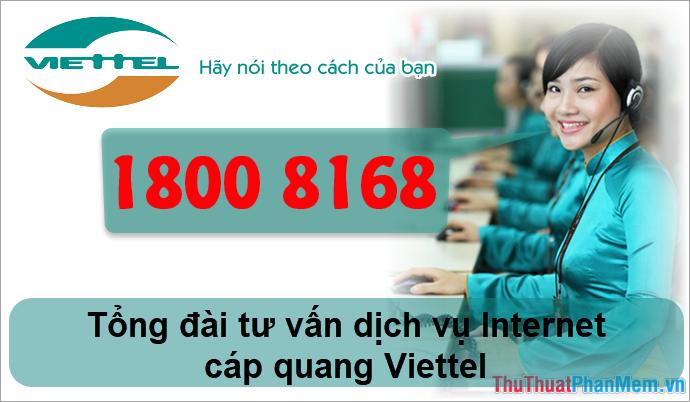 Tổng đài tư vấn Internet cáp quang Viettel (FTTH)