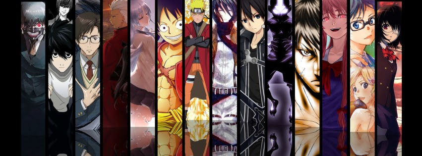 Ảnh bìa facebook anime