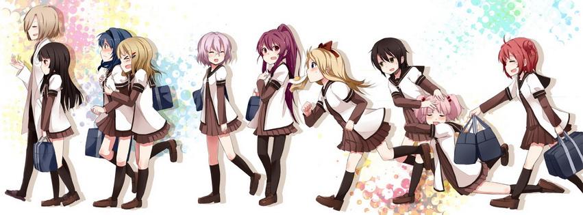 Hình ảnh bìa Anime facebook đẹp