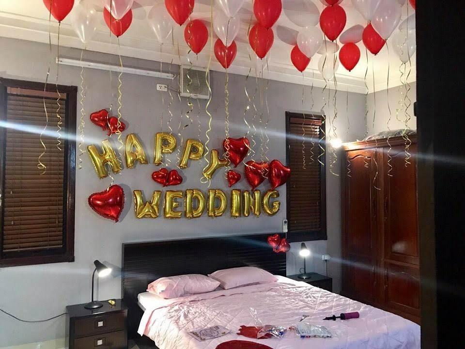 Mẫu trang trí phòng cưới