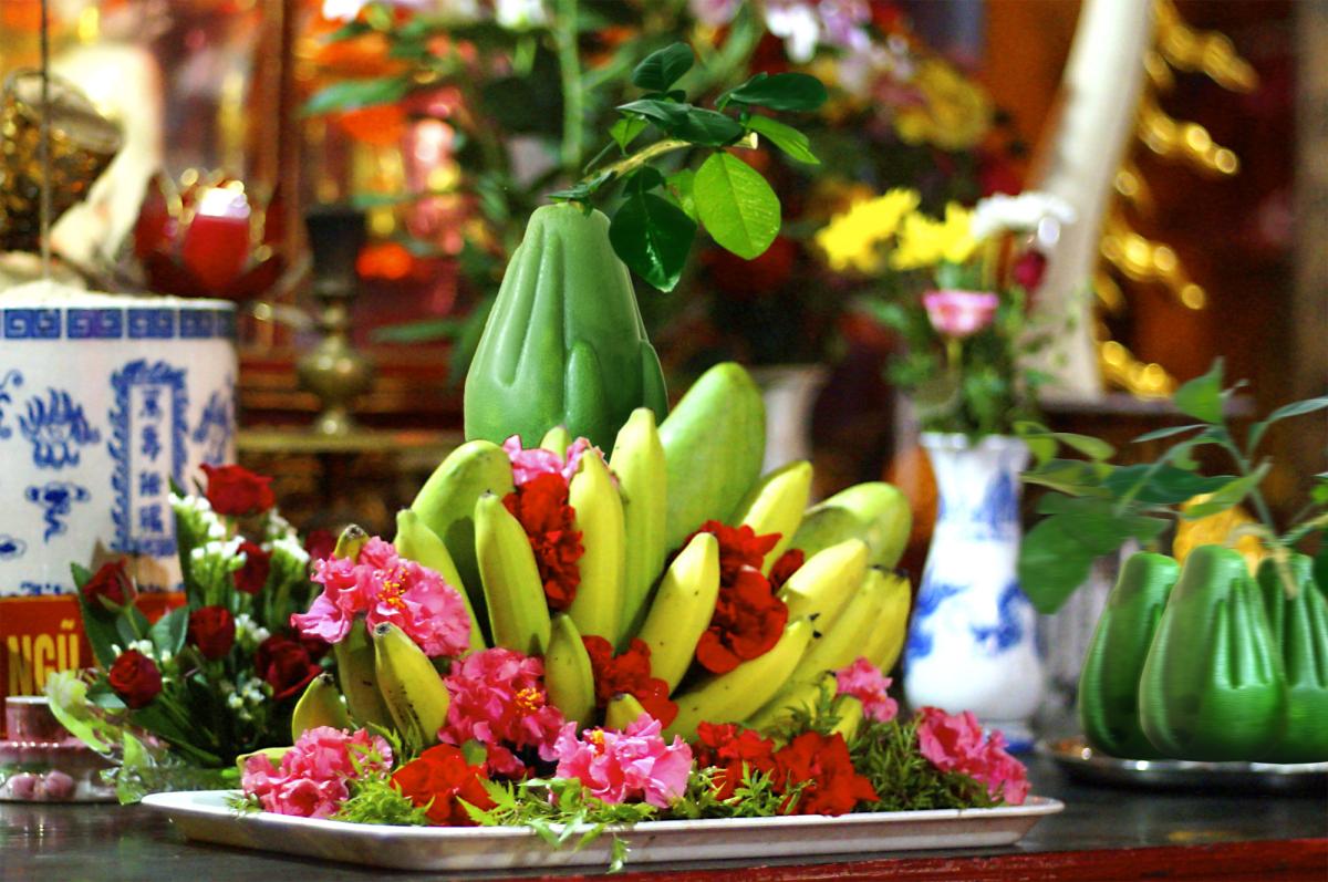 Nên chọn những loại quả nào cho mâm ngũ quả ngày tết để trang trí đẹp nhất