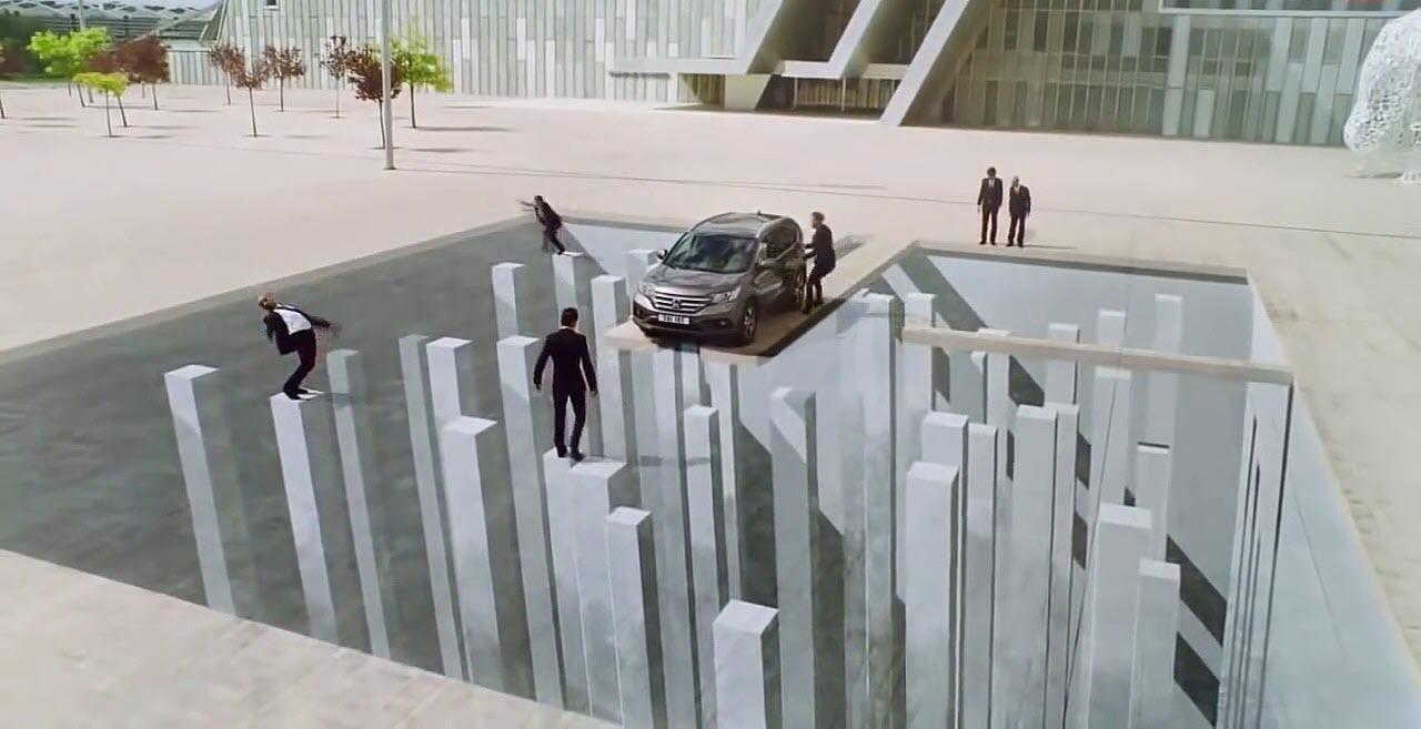 Bức tranh 3D đánh lừa thị giác đẹp nhất