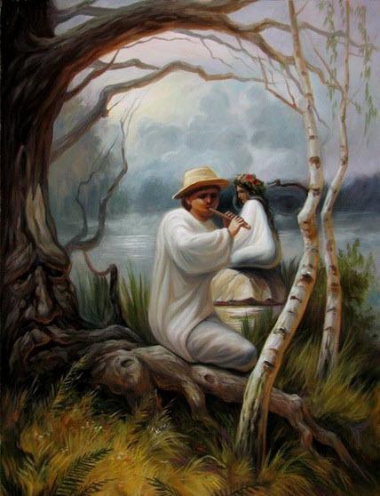 Bức tranh đánh lừa thị giác đẹp
