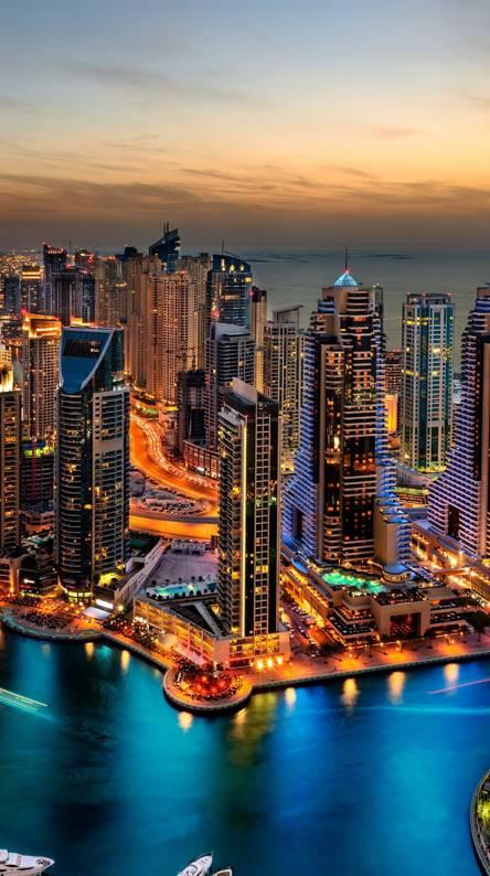 Hình nền điện thoại thành phố biển
