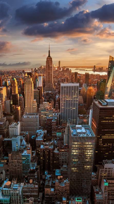 Hình nền điện thoại thành phố