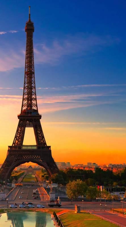 Hình nền điện thoại tháp Eiffel
