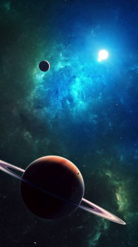 Hình nền điện thoại vũ trụ bao la