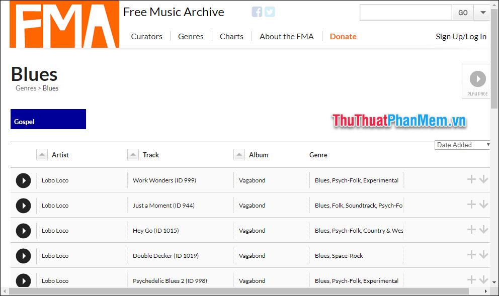 FreeMusicArcheve.org