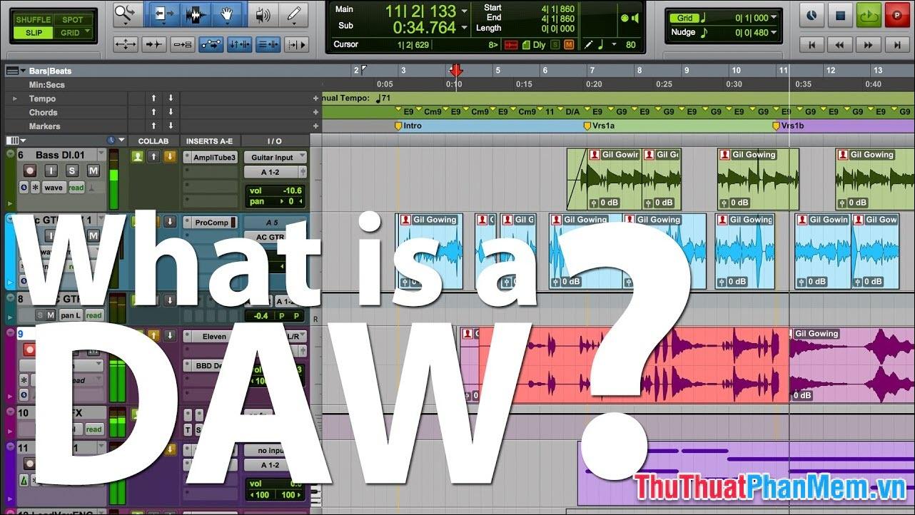 Máy trạm Âm thanh Kỹ thuật số (DAW) là gì?