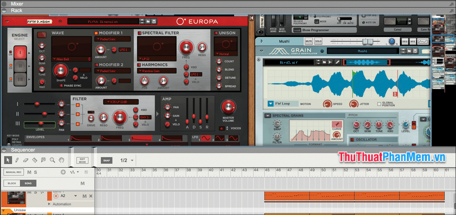 Propellerhead Reason 10 Multitrack
