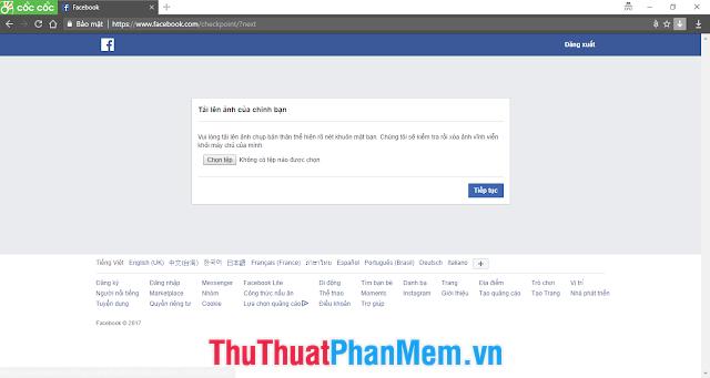 Tài khoản facebook có rất nhiều kiểu vô hiệu hóa khác nhau