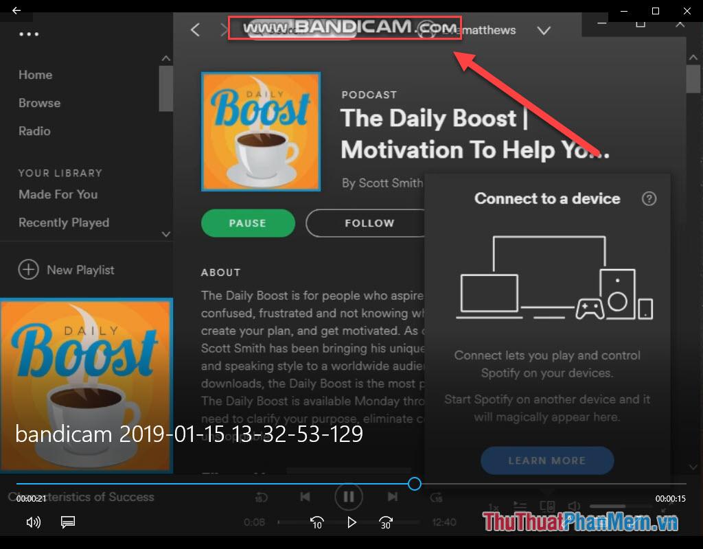 Cách sử dụng Bandicam để quay video màn hình, video game16