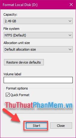 Cách tạo ổ đĩa ảo trên Windows bằng Simple VHD Manager5