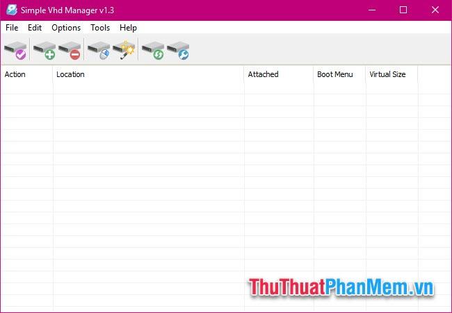 Cách tạo ổ đĩa ảo trên Windows bằng Simple VHD Manager