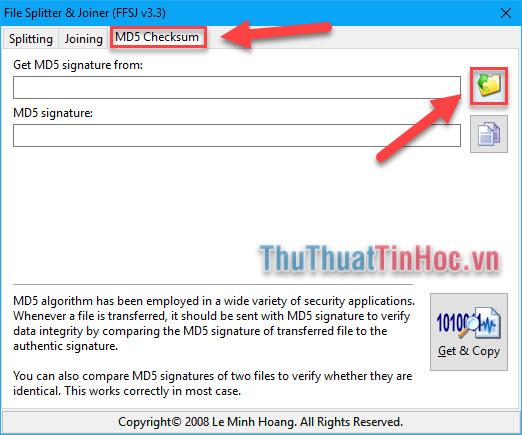 Check mã MD5, kiểm tra mã MD5 của file bất kỳ trên máy tính nhanh chóng, chính xác11