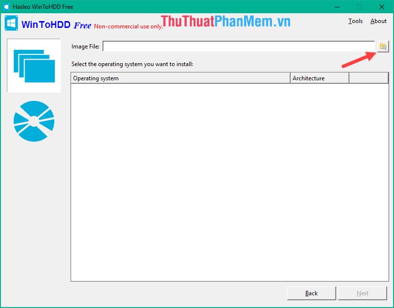 4 chọn file ISO