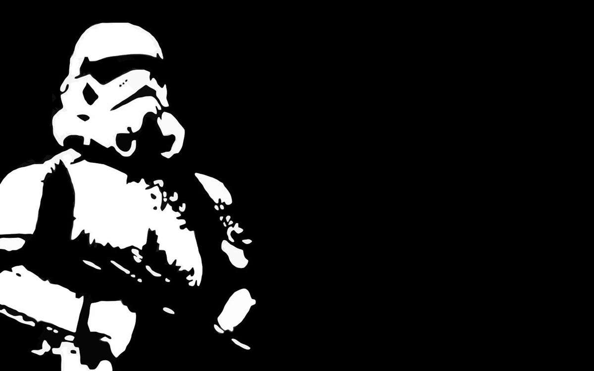 Hình ảnh màu đen star war