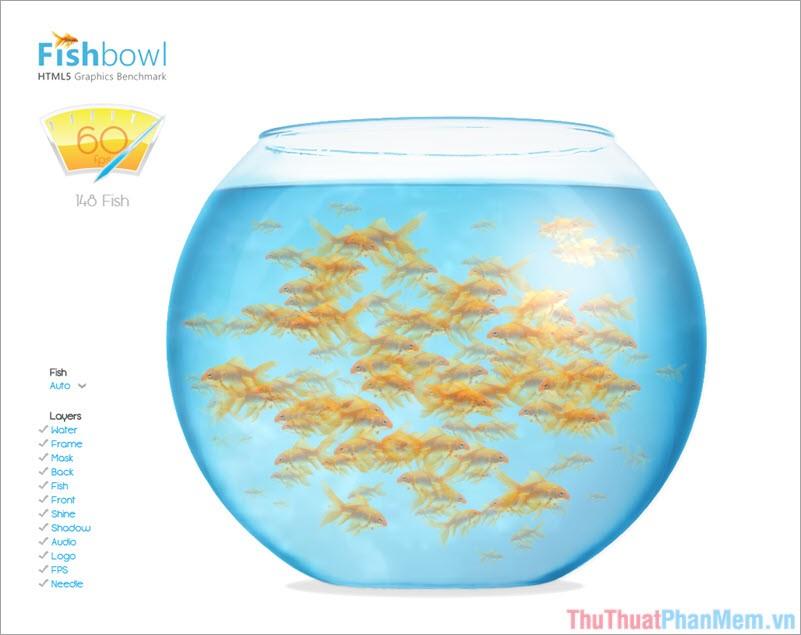 HTML5 Fish Bowl