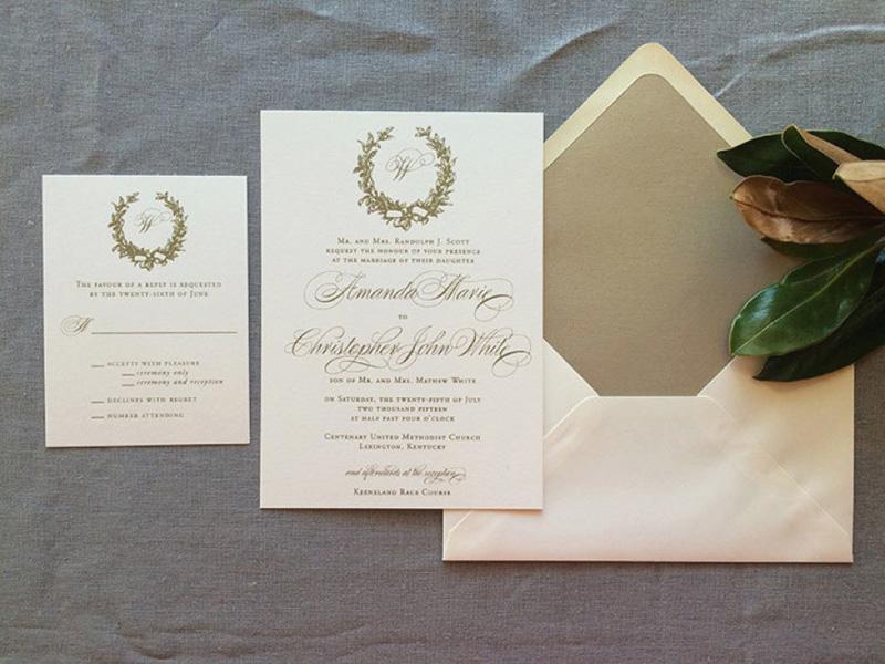 Hình mẫu thiệp cưới hoa văn đẹp