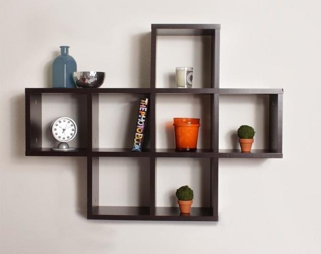 Kệ sách treo tường đơn giản mà đẹp