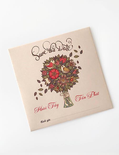 Mẫu bìa thiệp cưới đẹp