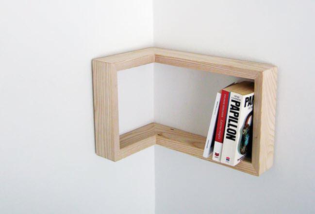 Mẫu kệ sách bé và đơn giản