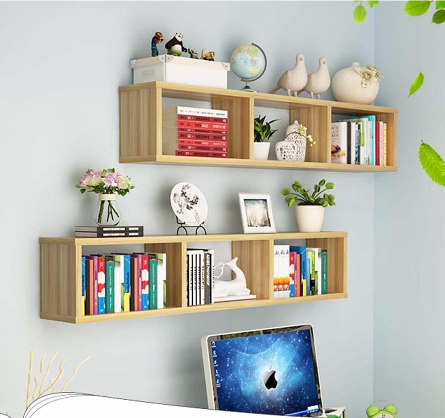Mẫu kệ sách gỗ đẹp