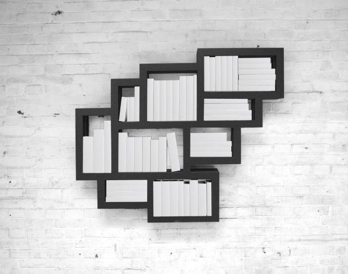 Mẫu kệ sách treo tường đẹp nhất