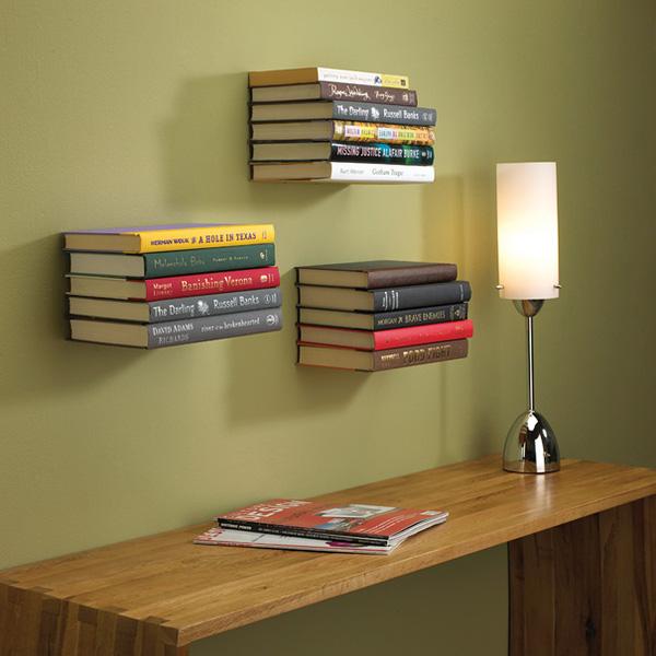 Mẫu kệ sách treo tường độc đáo và gọn