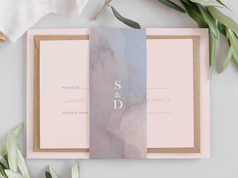 Mẫu thiệp cưới đẹp và độc đáo