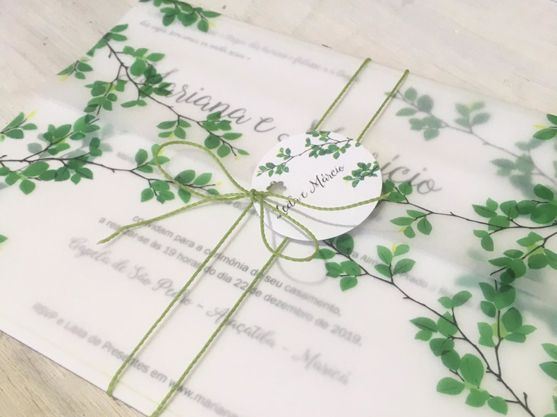 Mẫu thiết kế thiệp cưới đẹp